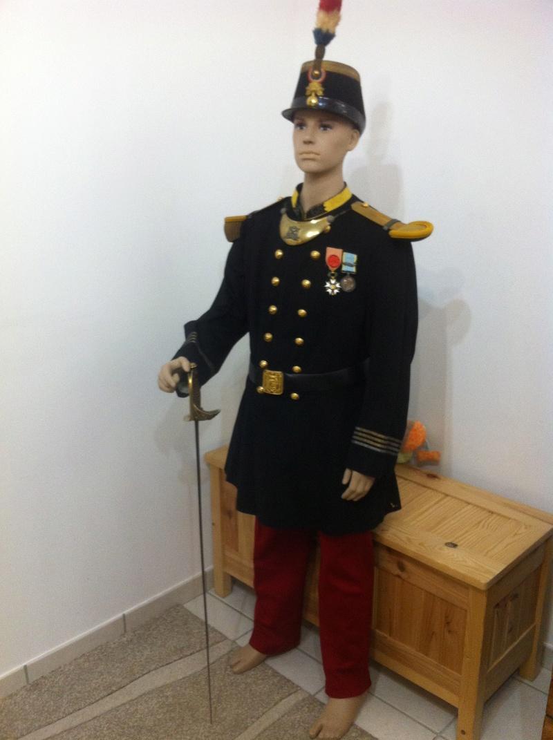 l'uniforme 1872 de mon arrière arrière grand père  Img_0515