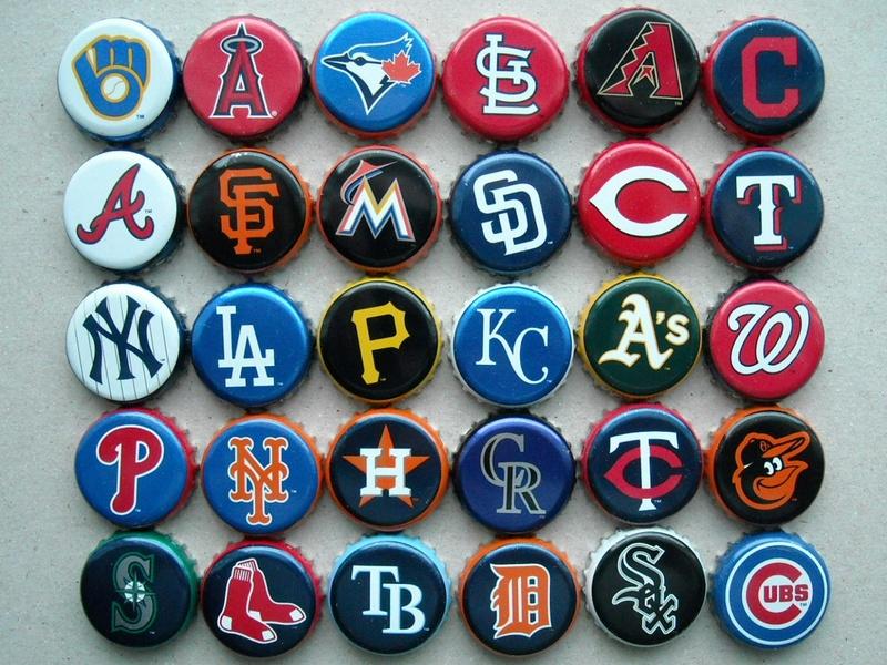 Logos de la ligue majeur de baseball Rscn4226
