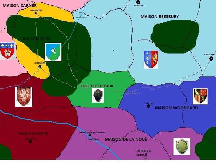 La maison York de Gibraltar Carte_11