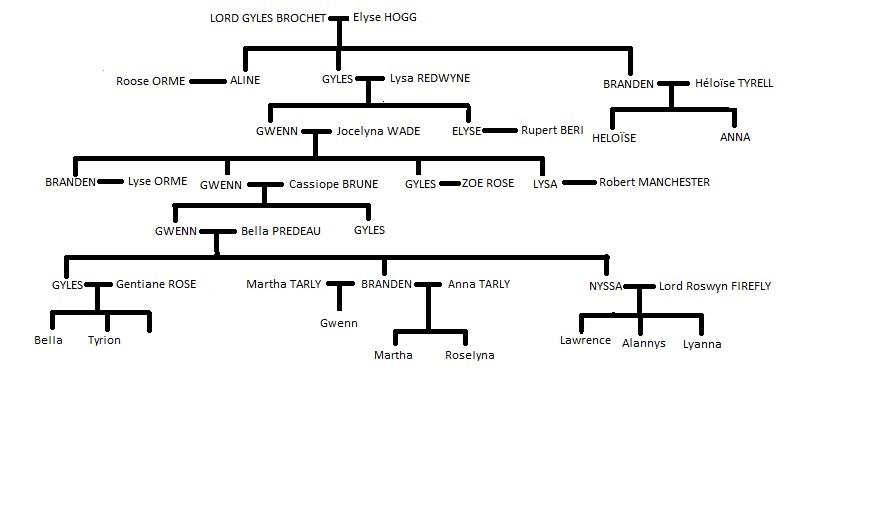 Généalogie des Maisons des terres de Roc-Fleuri Gzonzo11