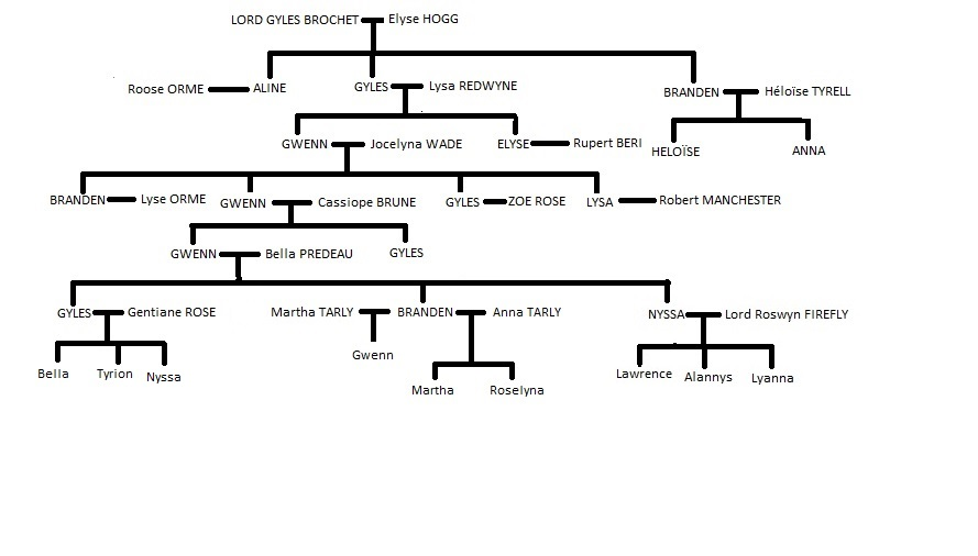 Généalogie des Maisons des terres de Roc-Fleuri Gzonzo12