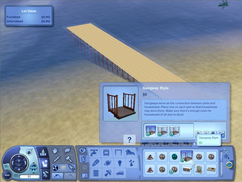 Guide to Houseboats in game & in CAW by SimGuruSemedi, EA IP Forum 1010