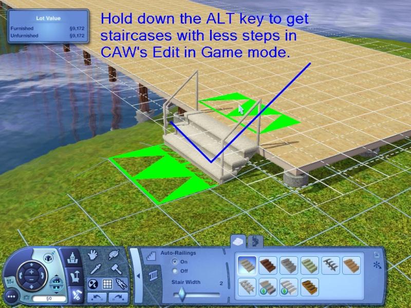 Guide to Houseboats in game & in CAW by SimGuruSemedi, EA IP Forum 1111