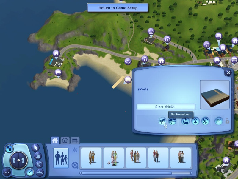 Guide to Houseboats in game & in CAW by SimGuruSemedi, EA IP Forum 1310