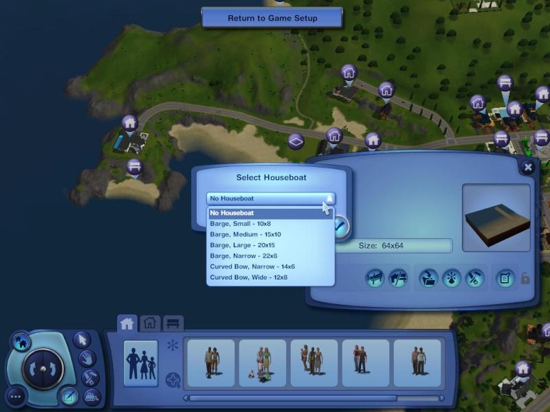 Guide to Houseboats in game & in CAW by SimGuruSemedi, EA IP Forum 1410