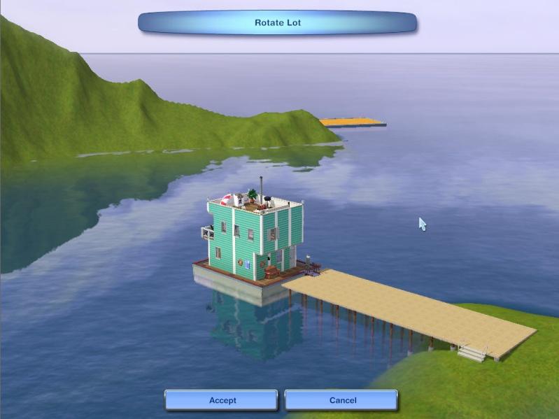 Guide to Houseboats in game & in CAW by SimGuruSemedi, EA IP Forum 2110