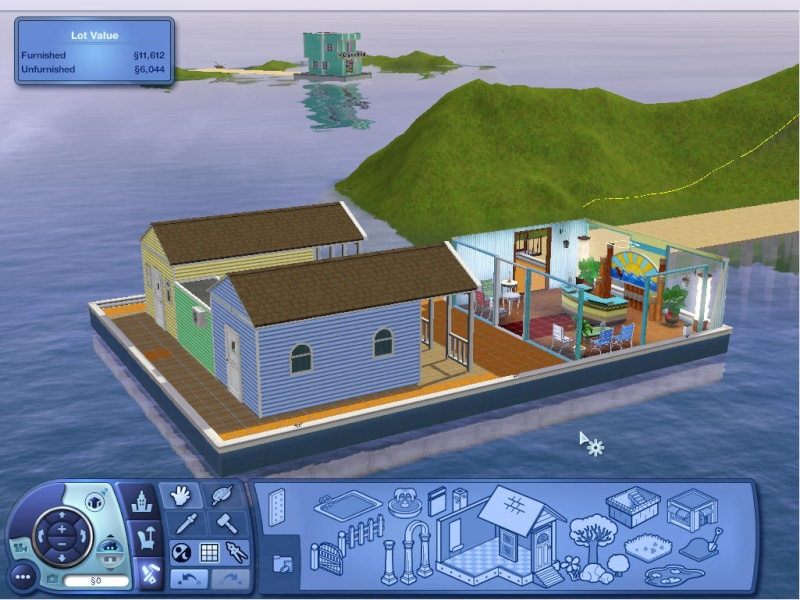 Guide to Houseboats in game & in CAW by SimGuruSemedi, EA IP Forum 2210