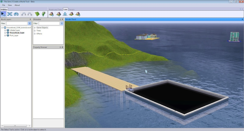 Guide to Houseboats in game & in CAW by SimGuruSemedi, EA IP Forum 2510