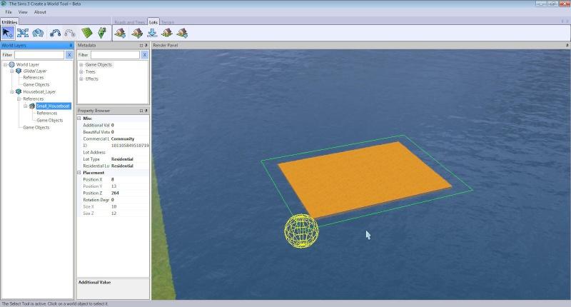 Guide to Houseboats in game & in CAW by SimGuruSemedi, EA IP Forum 311