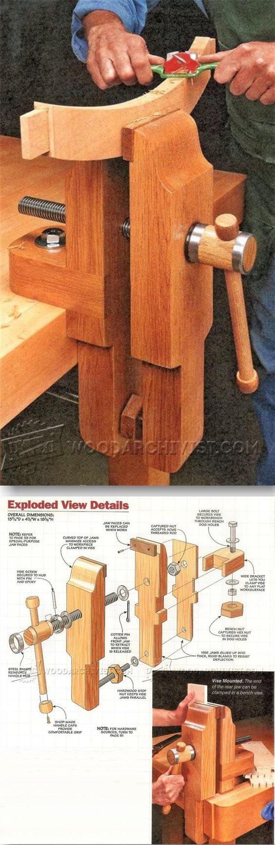 LA TROUVAILLE DE KOKO (une presse à bois à mors parallèles) 031e7c10