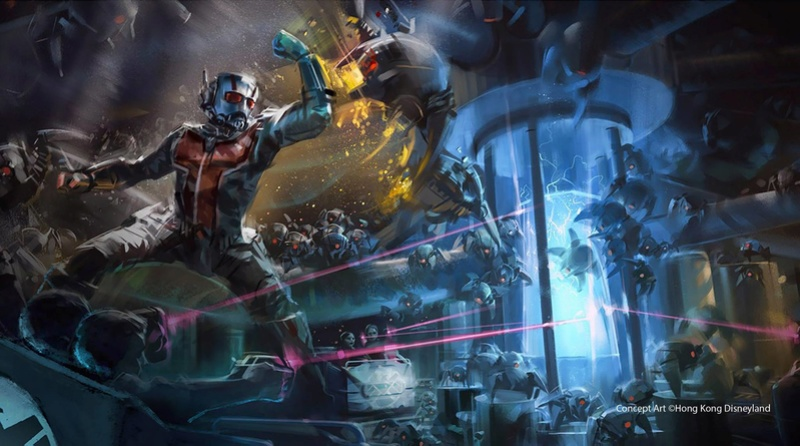 [Hong Kong Disneyland] Nouveau Land Marvel Universe (2019 - 2023) 15122910