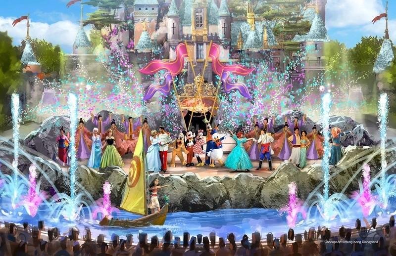 [Hong Kong Disneyland] Nouveau Sleeping Beauty Castle (2020) - Page 2 15137410