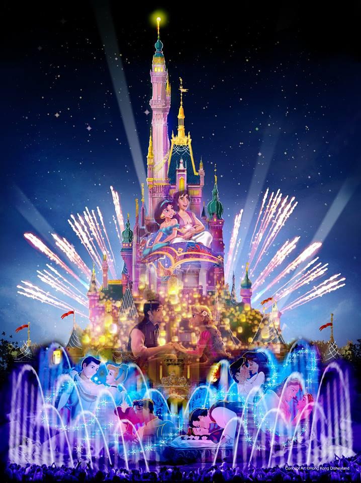 [Hong Kong Disneyland] Nouveau Sleeping Beauty Castle (2020) - Page 2 15170710