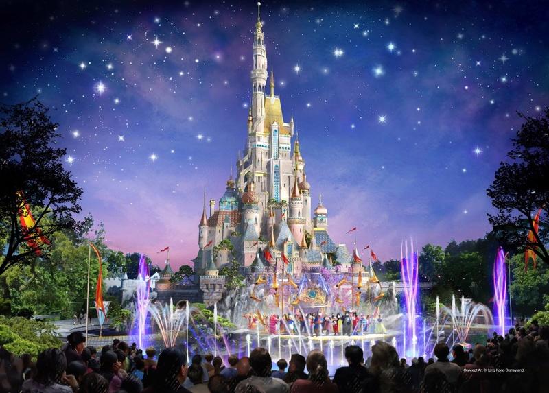 [Hong Kong Disneyland] Nouveau Sleeping Beauty Castle (2020) - Page 2 15195910