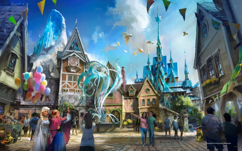 [Hong Kong Disneyland] Nouveau Land La Reine des Neiges (2021) Frozen10