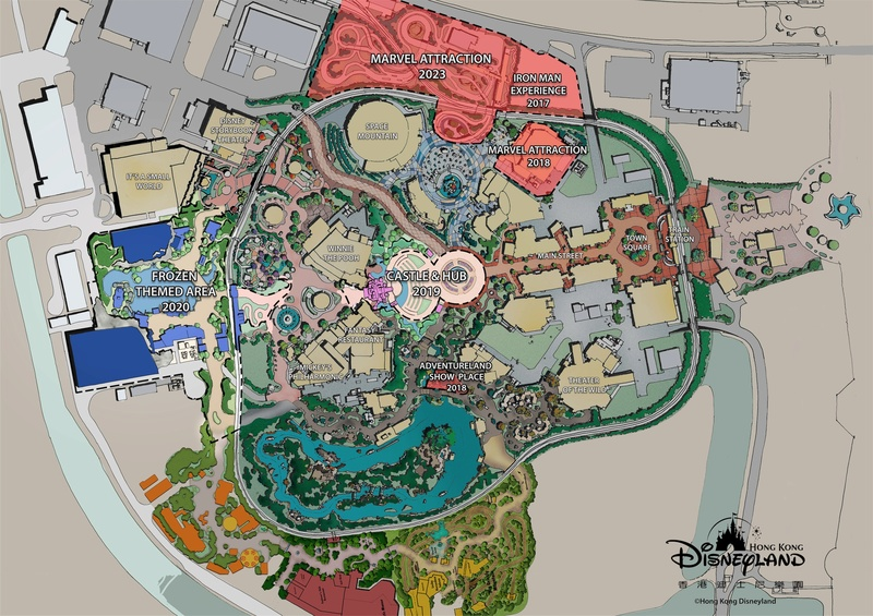 [Hong Kong Disneyland] Nouveau Land Marvel Universe (2019 - 2023) Hkdl_s10