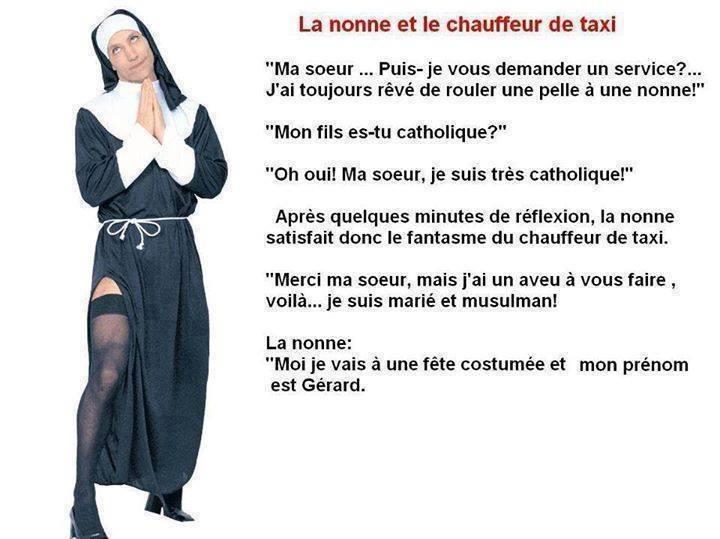 La nonne et le chauffeur de taxi 14925310