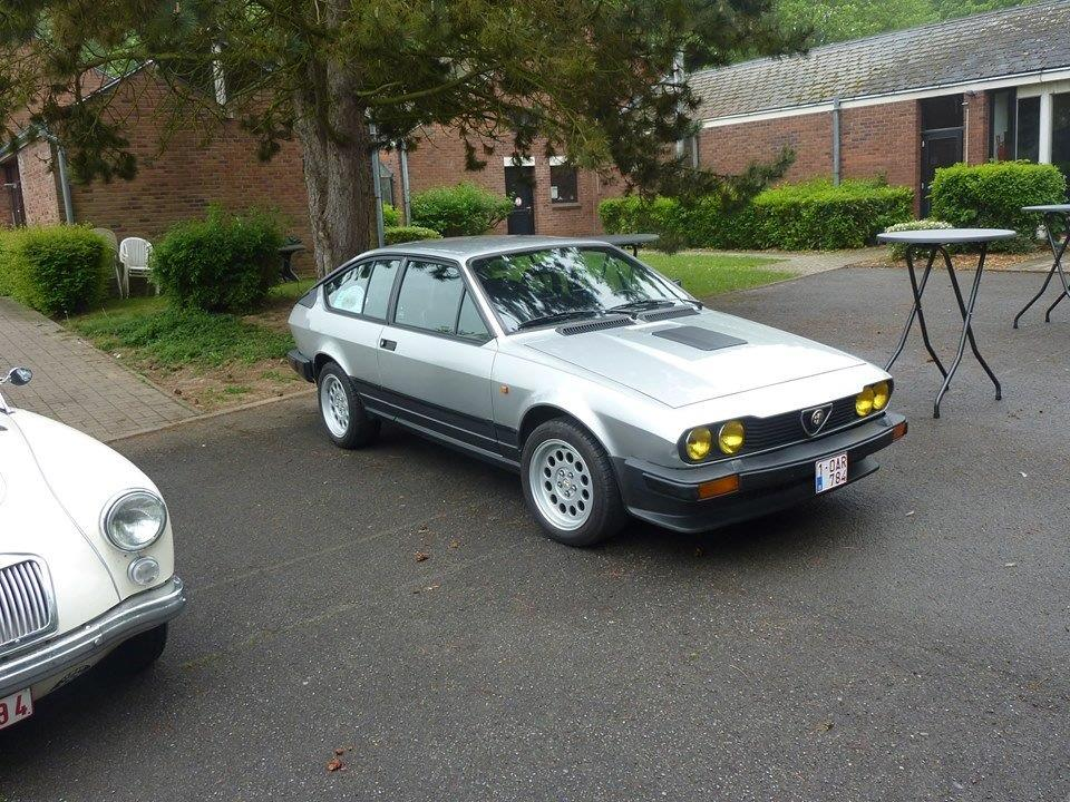 Je vends ma GTV6 de 1987 140000km... F10