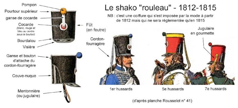 7e Hussard de 1808 - 30mm Mignot  Shako-10