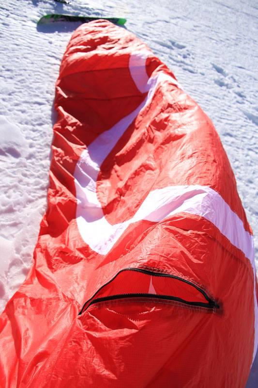 Little Cloud se lance dans le kite à caisson fermé/ouvert 14962610