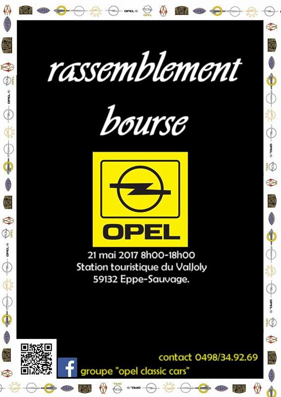 Rassemblement et bourse opel 21 Mai 2017, Eppe-Sauvage (France). 16358311