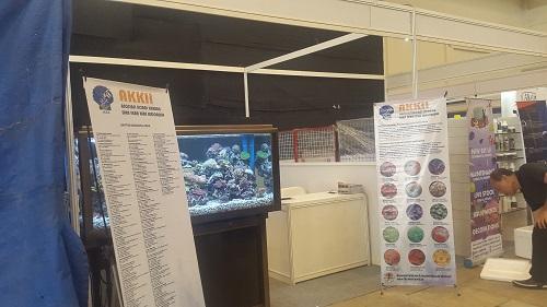 Event biota laut Indofishclub bersama NUSATIC 20161221