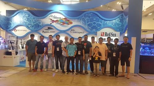 Event biota laut Indofishclub bersama NUSATIC 20161228