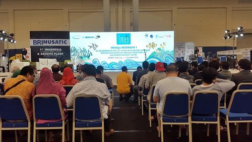 Event biota laut Indofishclub bersama NUSATIC 20161230