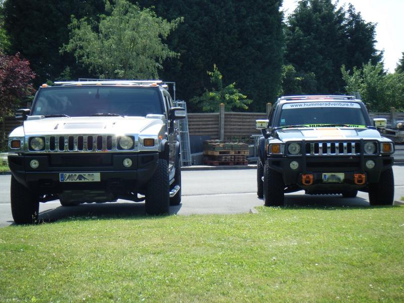 Hummer H2,  gros ou!!!   comparaison... - Page 2 Dscf3711