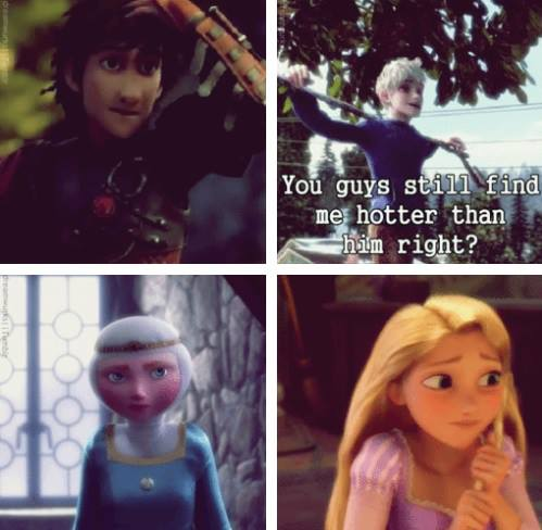 (Fan art) Merida, Rapunzel, Jack et Hiccup - The Big Four - Page 2 Lol11