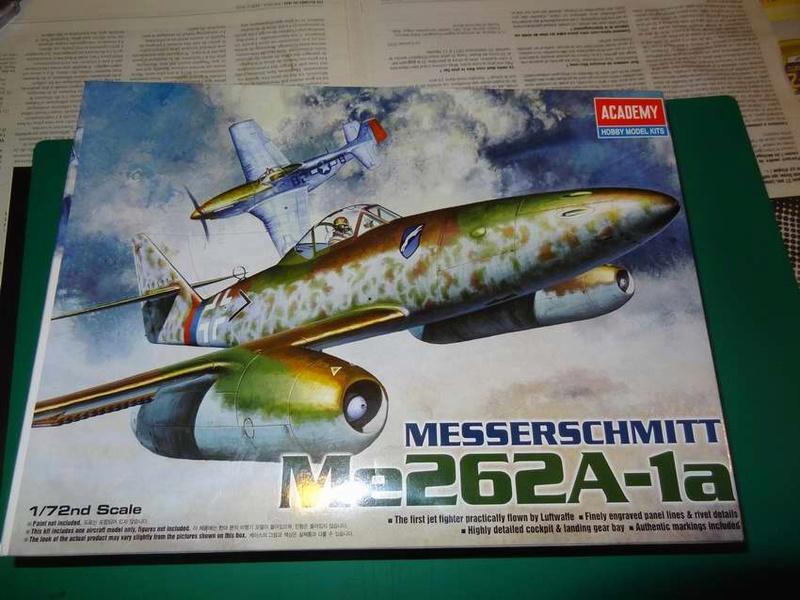 [ACADEMY] MESSERSCHMITT Me 262 A-1A 1/72ème Réf 12410 000_ac11