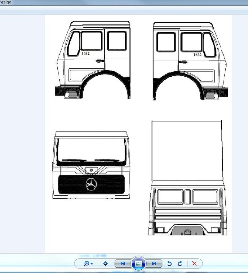 Mercedes NG 1632 Testbau (Eigenkonstruktion) Unbena10