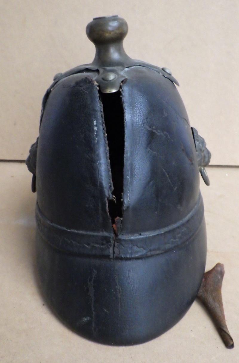 Bayern Helm M 1848 der Landwehr (Bürgermilitär/Bürgerwehr Verkoo17