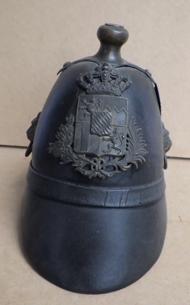 Bayern Helm M 1848 der Landwehr (Bürgermilitär/Bürgerwehr Verkoo18