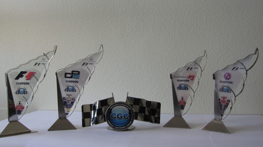Los artífices de los Trofeos de CGC 210