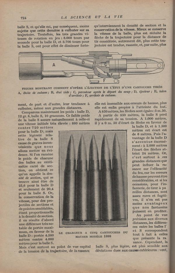 Les armes portatives des troupes en campagne en 1915 72410