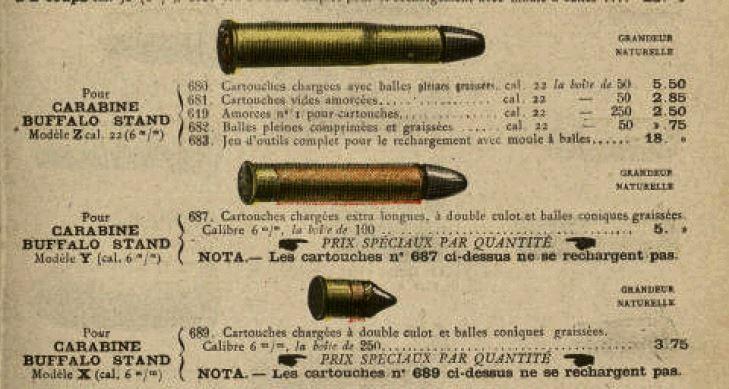 "Carabine ""LEBEL Scolaire"" - Page 2 Cartou10"