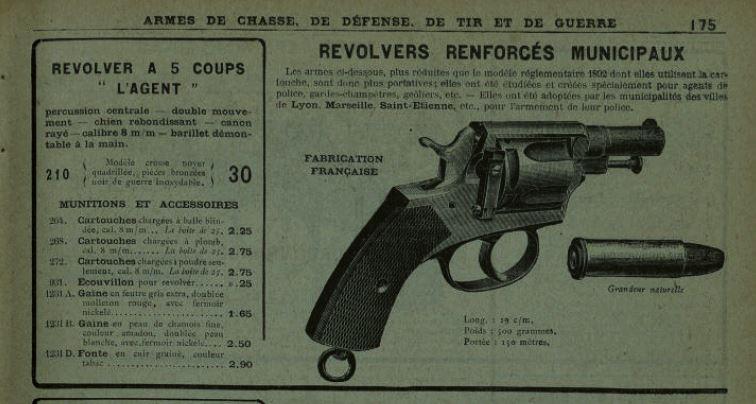 revolver 8mm agent L_agen10