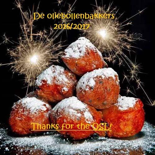 eQSL de Oliebollenbakkers Oliebo10