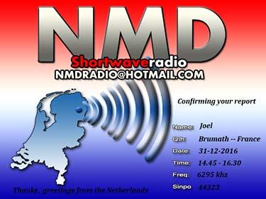 eQSL de NMD Radio Qsl_nm10
