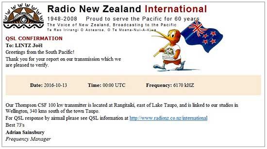 eQSL de RNZI - new zealande Radio_10