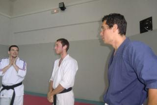 Stage de formation au niveau 1 de Kyusho-Jitsu à Théza le 14 octobre. Cimg9217