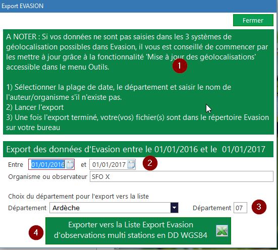 Evasion v9.2.10 Exporter vos données 2016-115