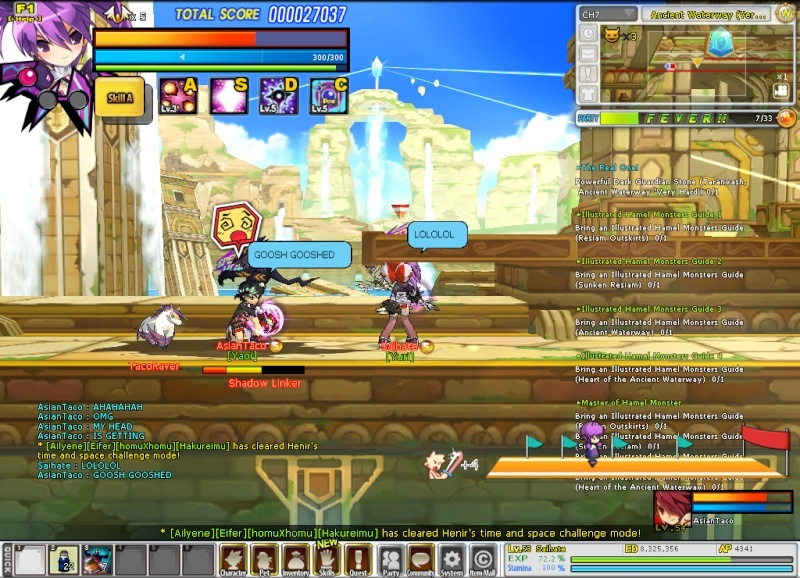 This is what happens when you carry seishan in henir Sc_20110