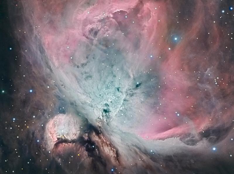 """M42 """" nébuleuse d'orion en  HARVB """" M4211"""