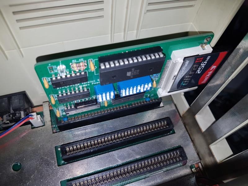 Remise en route Amstrad PC1640 HD20 20181021