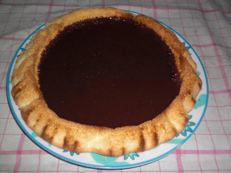 tarte moelleuse aux carambars Croipi83