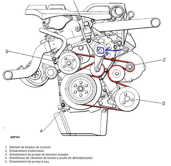 Galet tendeur p38 diesel Captur11