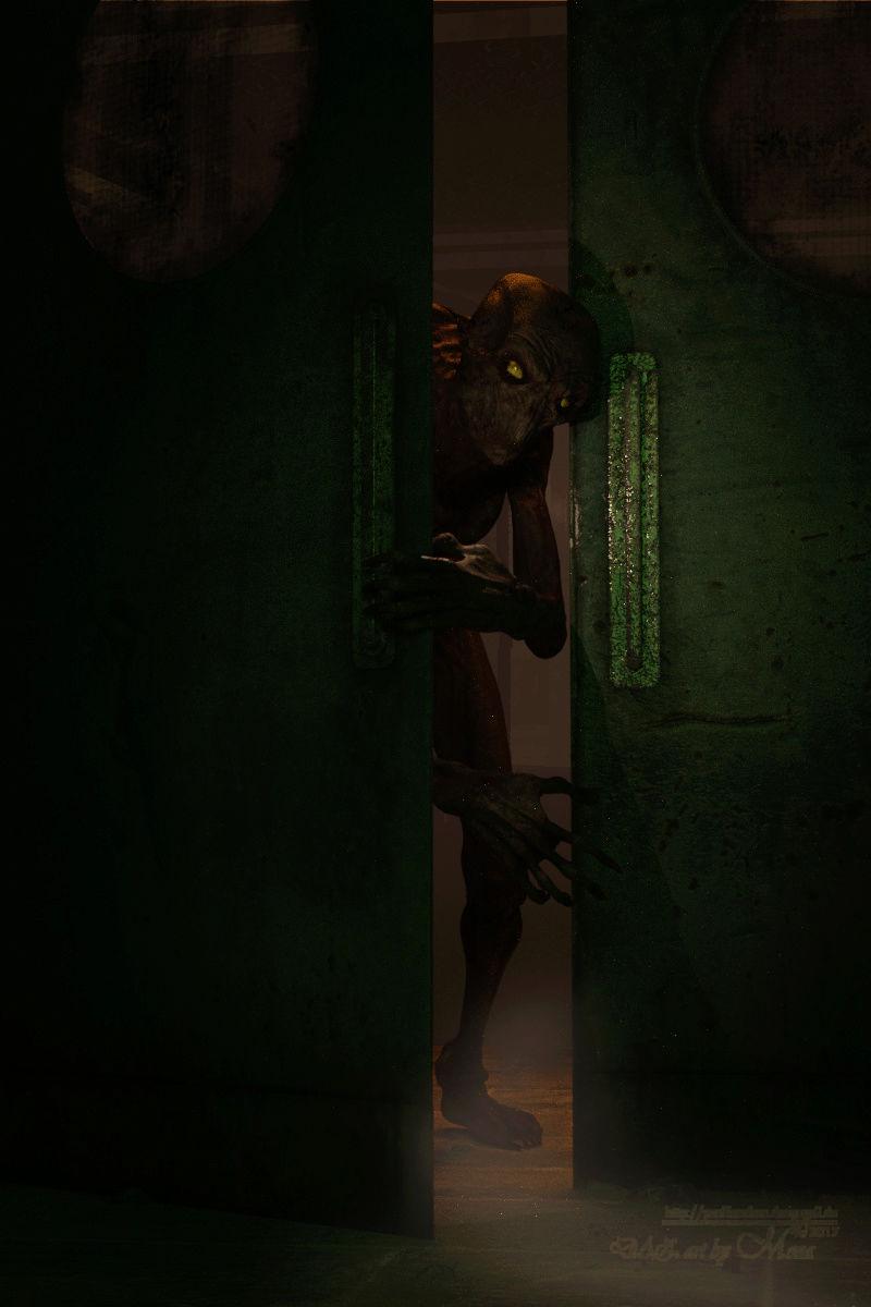 Die Tür geht auf  033o10