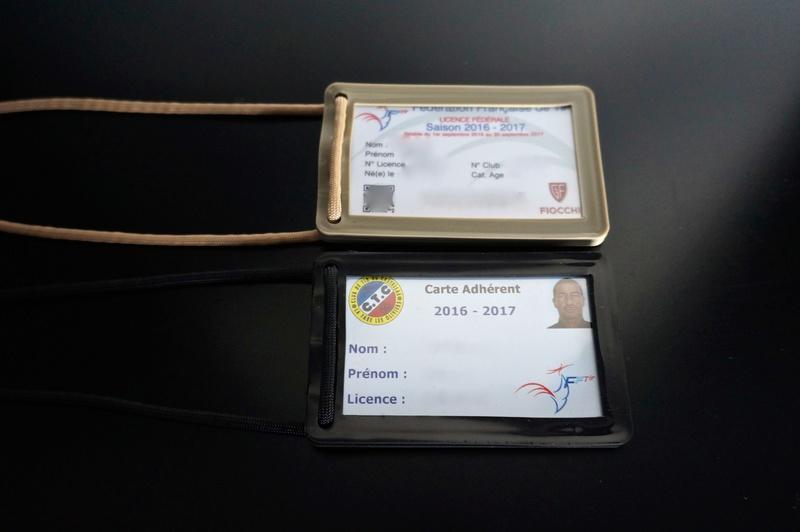 Porte Badge pour Stand de Tir Dsc01410